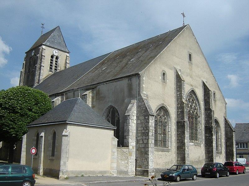 Photo du Monument Historique Eglise Saint-Pierre situé à Boynes
