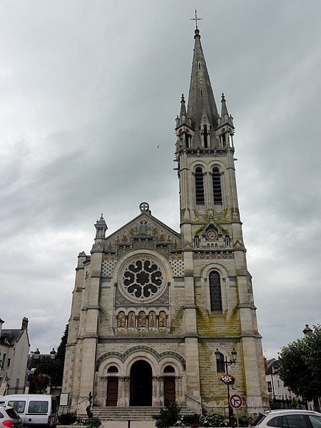 Photo du Monument Historique Eglise Saint-Etienne situé à Briare