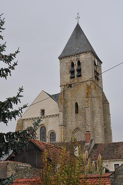 Photo du Monument Historique Eglise Saint-Etienne situé à Briarres-sur-Essonne