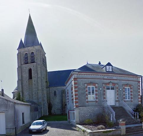 Photo du Monument Historique Eglise Saint-Loup situé à Bromeilles