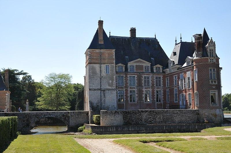 Photo du Monument Historique Château de la Bussière, actuellement musée de la Pêche situé à La Bussière