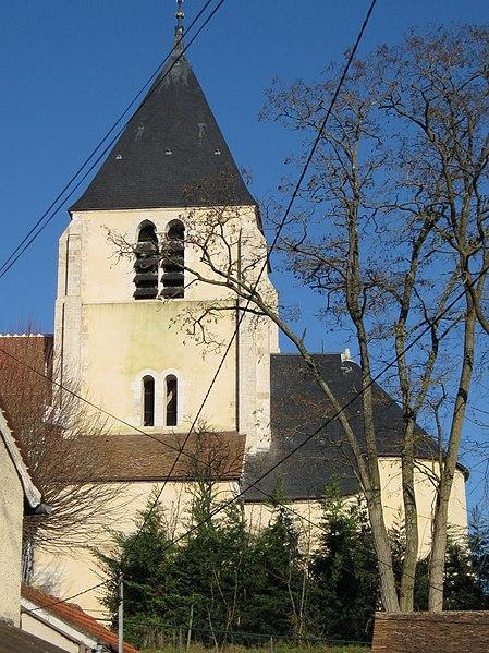 Photo du Monument Historique Eglise Saint-Loup situé à Cepoy