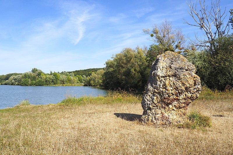 Photo du Monument Historique Terrain de 2000 m2 constituant le gisement préhistorique dit de la Pierre-aux-Fées situé à Cepoy