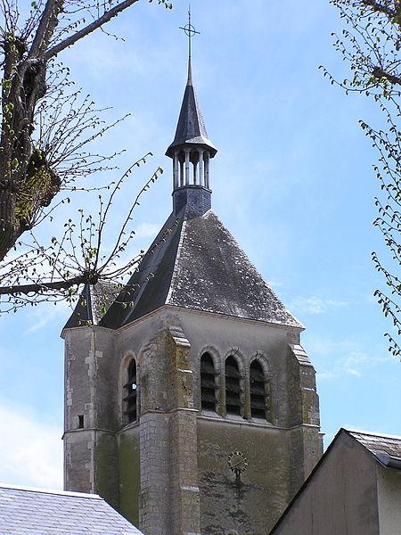 Photo du Monument Historique Eglise Saint-Martial situé à Châteauneuf-sur-Loire