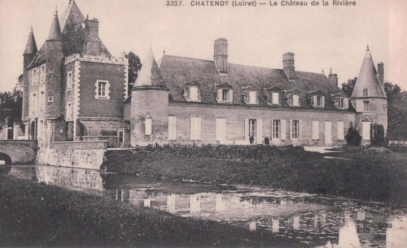 Photo du Monument Historique Château de la Rivière situé à Châtenoy