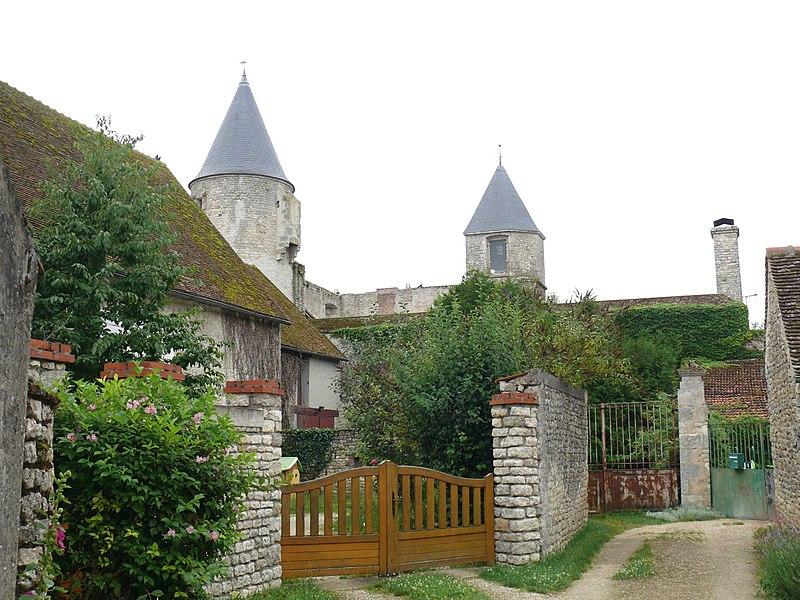 Photo du Monument Historique Château de Courcelles-le-Roi situé à Courcelles