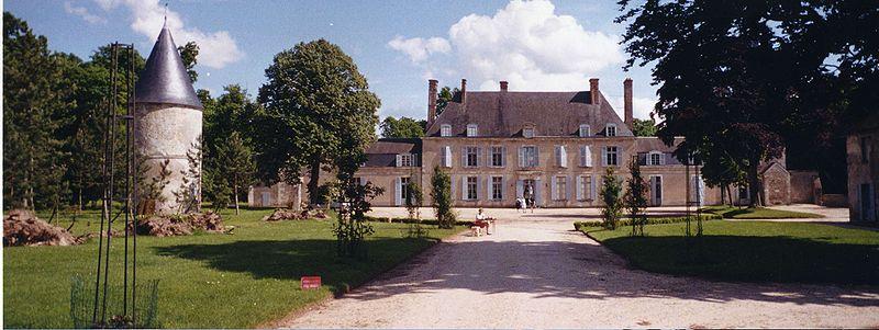Photo du Monument Historique Château de Denainvilliers situé à Dadonville