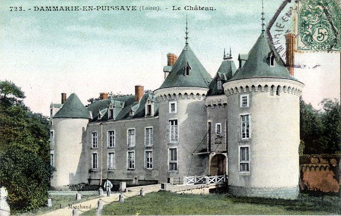 Photo du Monument Historique Château situé à Dammarie-en-Puisaye