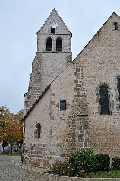 Photo du Monument Historique Eglise Saint-Etienne situé à Donnery