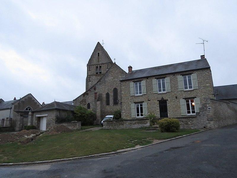 Photo du Monument Historique Eglise Saint-Lubin situé à Escrennes