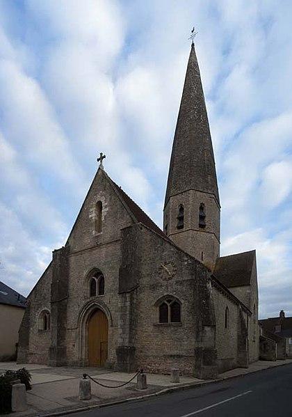 Photo du Monument Historique Eglise Notre-Dame situé à Fay-aux-Loges