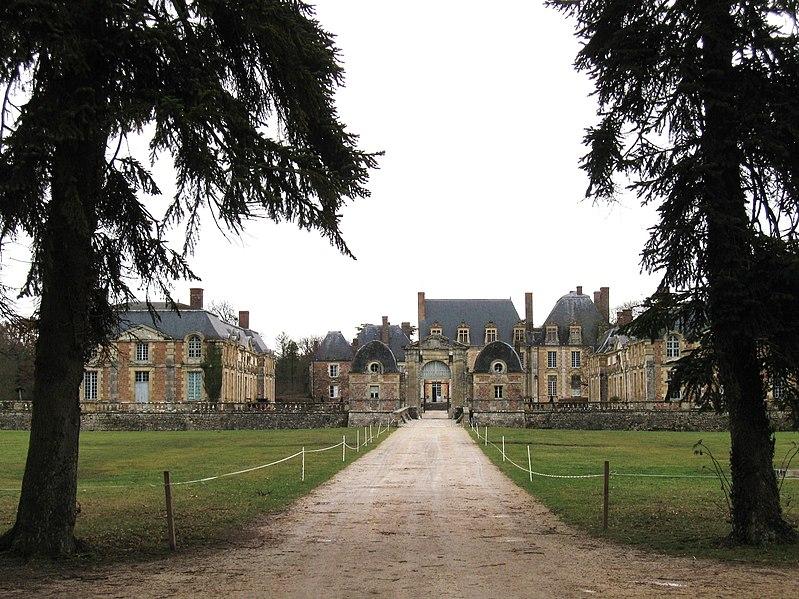 Photo du Monument Historique Château de la Ferté situé à La Ferté-Saint-Aubin