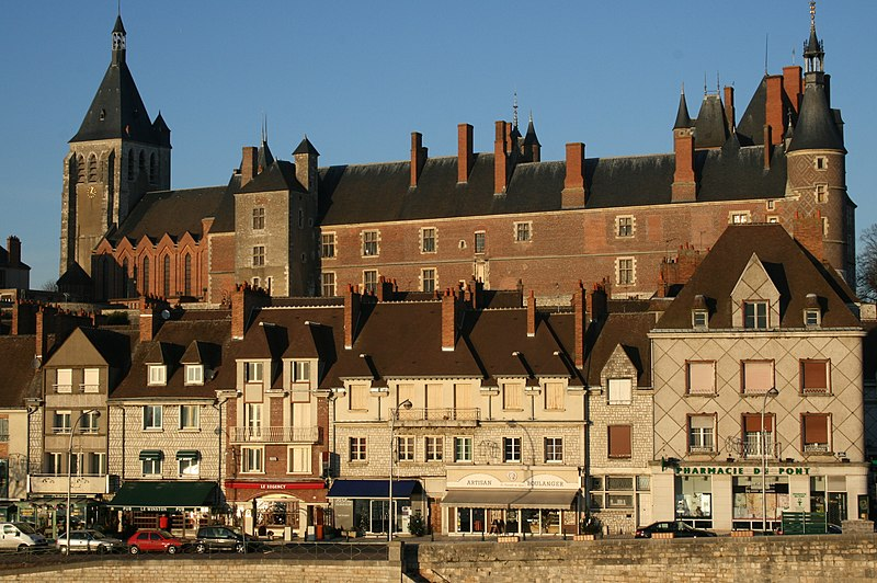 Photo du Monument Historique Ancien château, actuellement Musée international de la Chasse situé à Gien