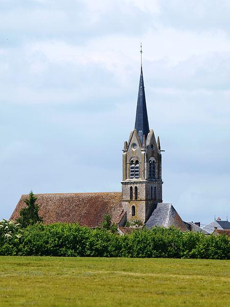 Photo du Monument Historique Eglise Notre-Dame situé à Girolles