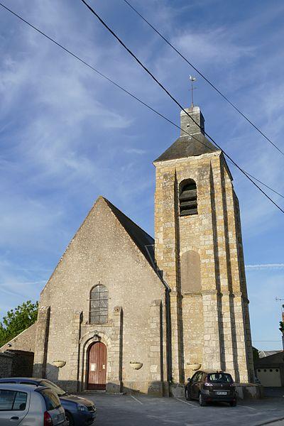 Photo du Monument Historique Eglise de Greneville situé à Greneville-en-Beauce