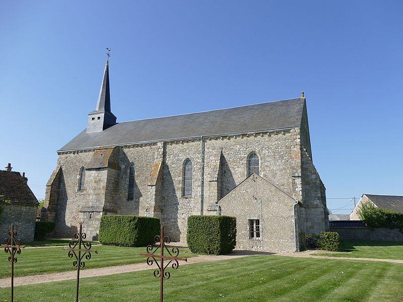 Photo du Monument Historique Eglise Saint-Hilaire situé à Guigneville