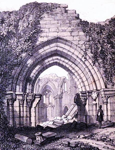 Photo du Monument Historique Ancienne abbaye de Notre-Dame de la Cour-Dieu situé à Ingrannes