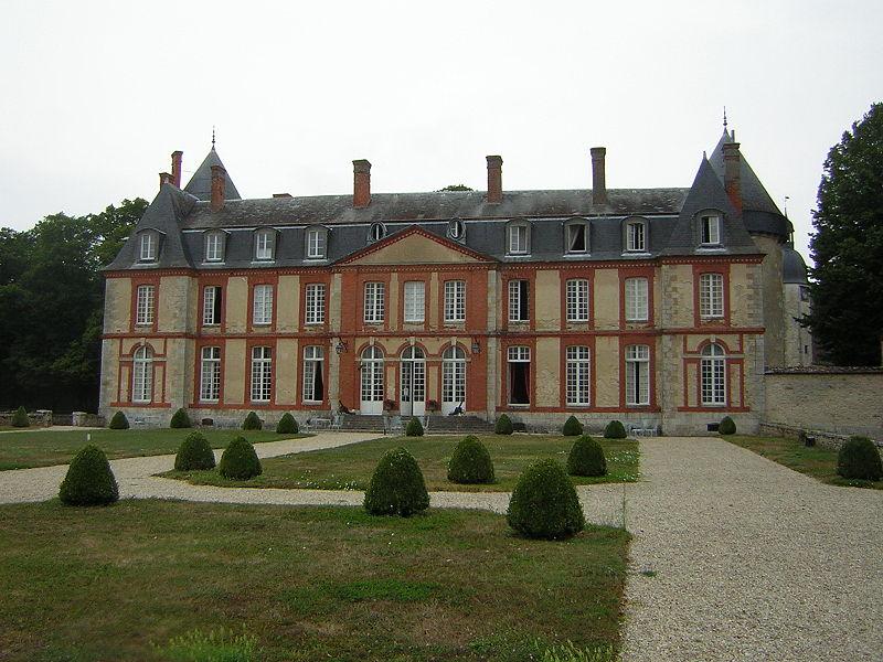 Photo du Monument Historique Château situé à Malesherbes