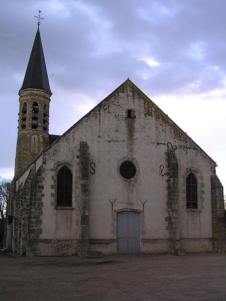 Photo du Monument Historique Eglise Saint-Martin situé à Malesherbes