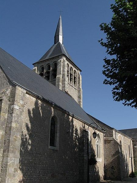 Photo du Monument Historique Eglise paroissiale Saint-Martin situé à Mardié