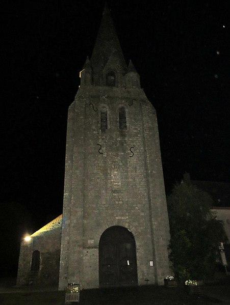 Photo du Monument Historique Eglise Saint-Georges situé à Mareau-aux-Bois