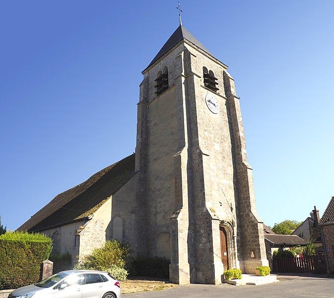 Photo du Monument Historique Eglise Notre-Dame situé à Melleroy