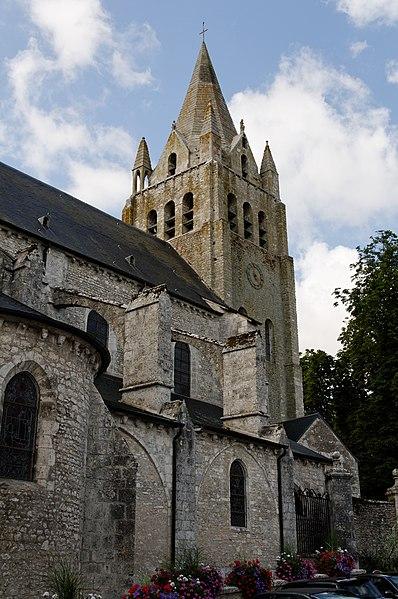 Photo du Monument Historique Eglise Saint-Liphard situé à Meung-sur-Loire