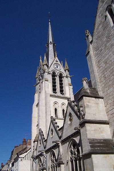 Photo du Monument Historique Eglise de la Madeleine situé à Montargis