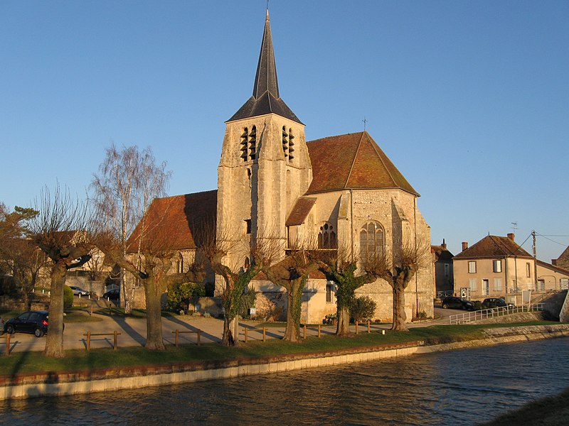Photo du Monument Historique Eglise Notre-Dame et Saint-Blaise situé à Montbouy