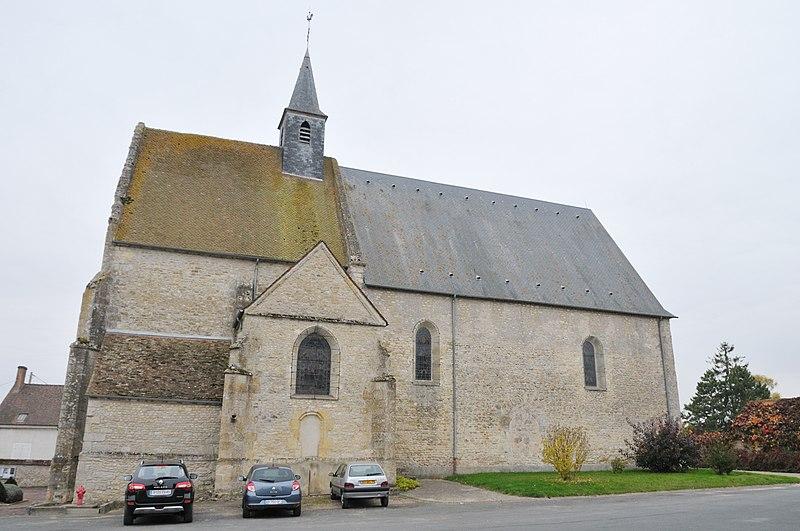 Photo du Monument Historique Eglise Saint-Amand situé à La Neuville-sur-Essonne