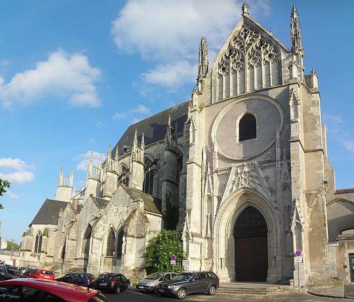 Photo du Monument Historique Eglise Saint-Aignan situé à Orléans