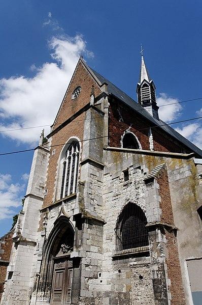 Photo du Monument Historique Eglise Saint-Pierre du Martroi situé à Orléans