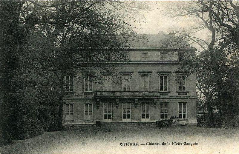 Photo du Monument Historique Hôtel de la Motte-Sanguin situé à Orléans