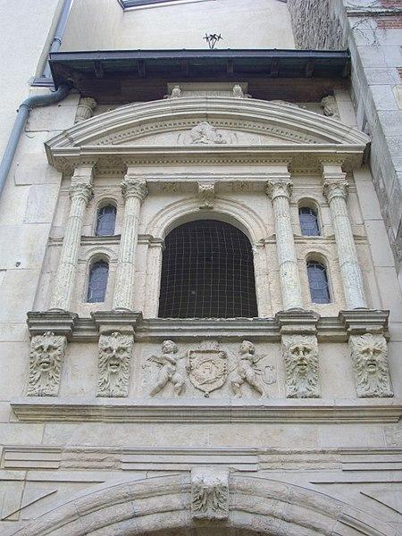 Photo du Monument Historique Immeuble, dit aussi Maison de la Paix situé à Orléans