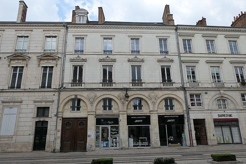 Photo du Monument Historique Immeuble situé à Orléans