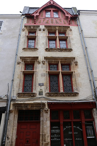 Photo du Monument Historique Maison dite de la Prévôté situé à Orléans