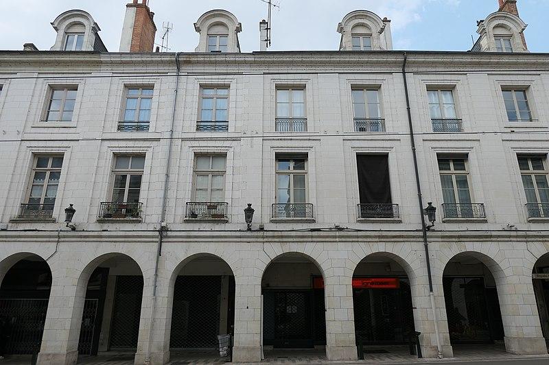 Photo du Monument Historique Maison situé à Orléans