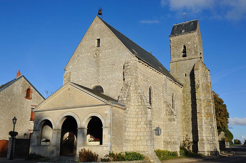 Photo du Monument Historique Eglise Saint-Aignan situé à Outarville