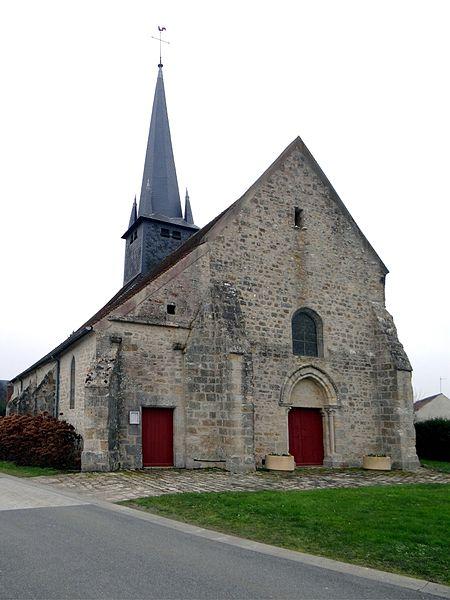 Photo du Monument Historique Eglise Saint-Denis situé à Ouzouer-sous-Bellegarde