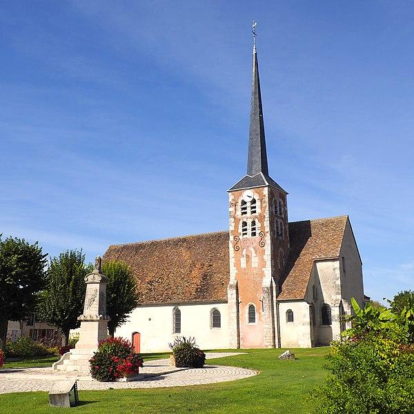Photo du Monument Historique Eglise Saint-Pierre-ès-Liens situé à Pannes