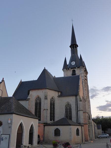Photo du Monument Historique Eglise Saint-André situé à Patay