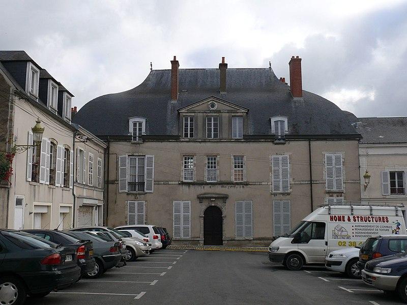 Photo du Monument Historique Château de l'Ardoise situé à Pithiviers