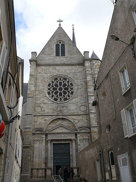 Photo du Monument Historique Eglise Saint-Salomon et Saint-Grégoire situé à Pithiviers