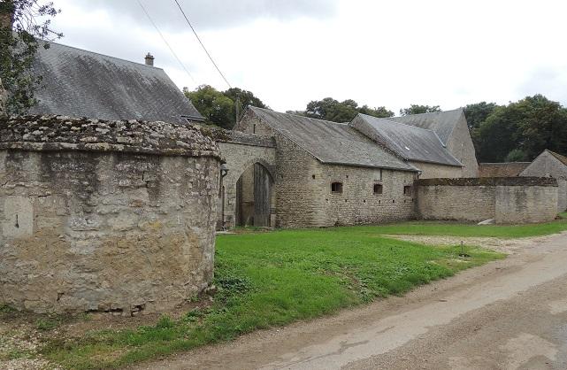 Photo du Monument Historique Ancien château de Montguignard situé à Pithiviers-le-Vieil