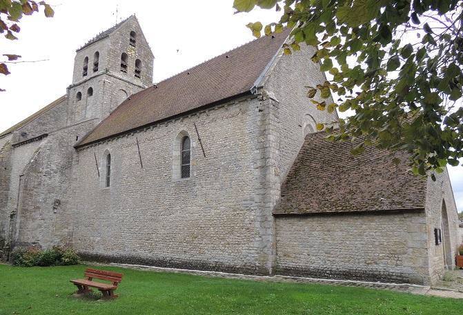 Photo du Monument Historique Eglise Saint-Gervais et Saint-Protais situé à Pithiviers-le-Vieil