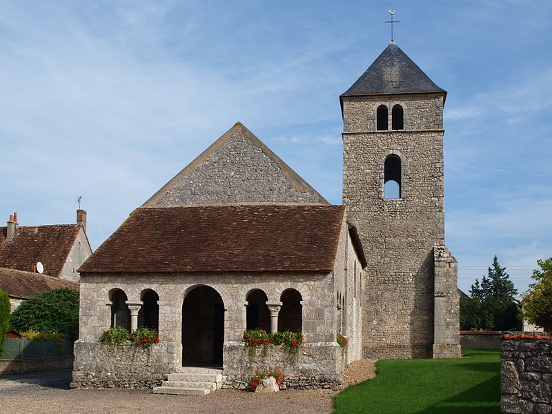 Photo du Monument Historique Eglise Saint-Jean-Baptiste situé à Préfontaines