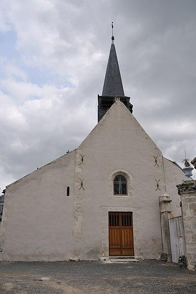Photo du Monument Historique Eglise Saint-Ay situé à Saint-Ay