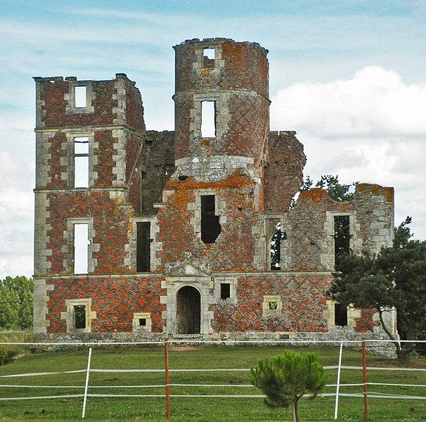 Photo du Monument Historique Ruines du château de l'Isle situé à Saint-Denis-en-Val
