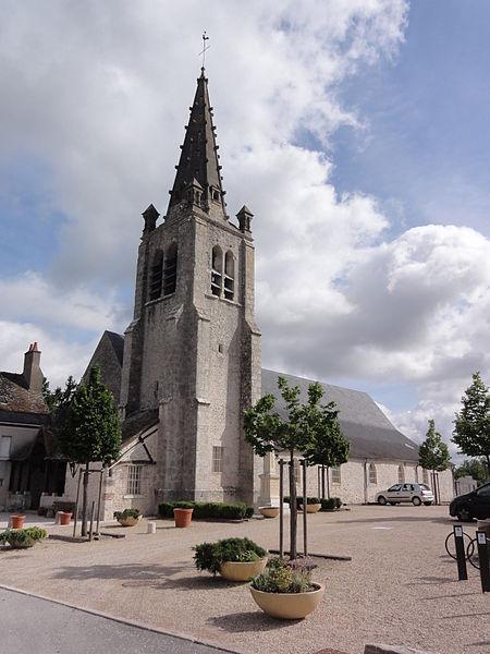 Photo du Monument Historique Eglise Saint-Hilaire situé à Saint-Hilaire-Saint-Mesmin