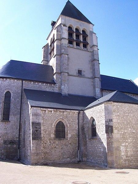 Photo du Monument Historique Eglise Saint-Jean-Baptiste situé à Saint-Jean-de-Braye